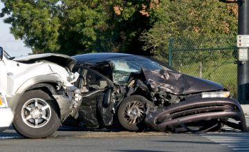two vehicle car accident