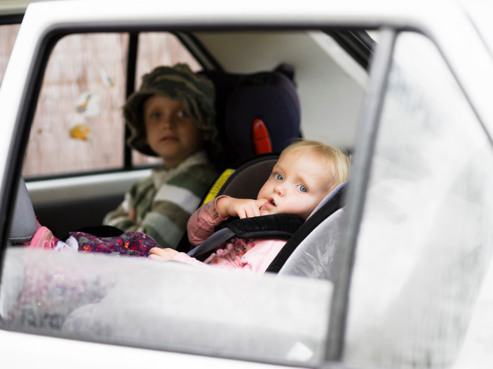 What Happens if I Get into an Accident with Children in the Car?