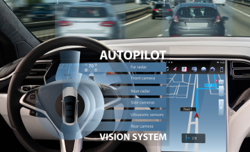 autopilot self driving car